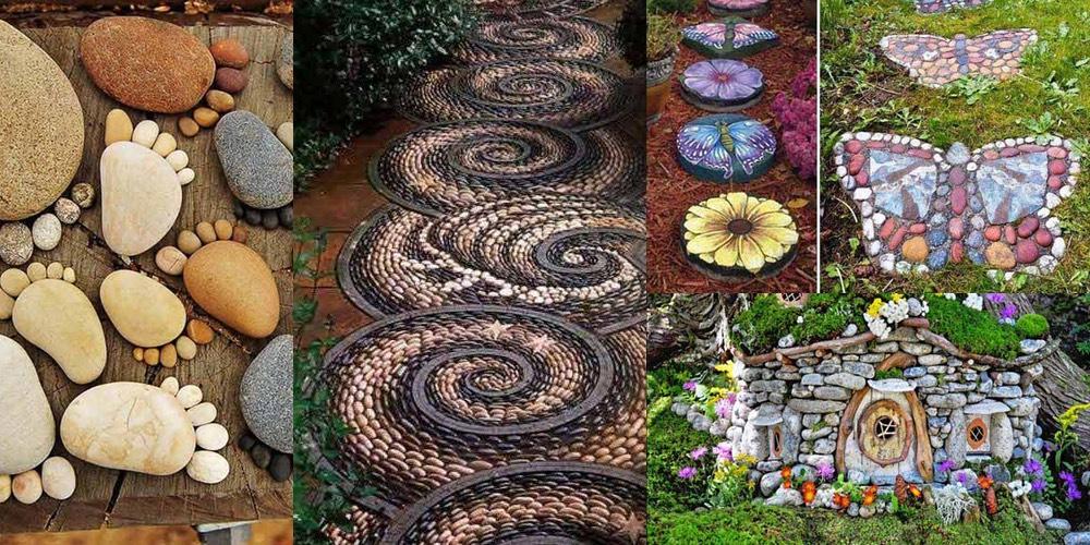 Decoraci n de piedras para jard n diario de palenque - Piedras de colores para jardin ...