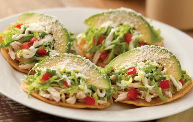 Tostadas de pollo mexicanas diario de palenque - Cena facil de preparar ...