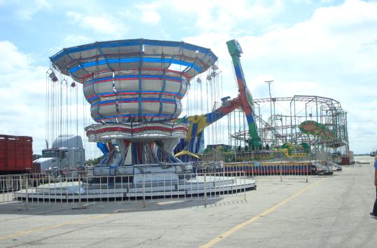 Pc Verifica Juegos Mecanicos De La Feria De Santo Domingo Diario