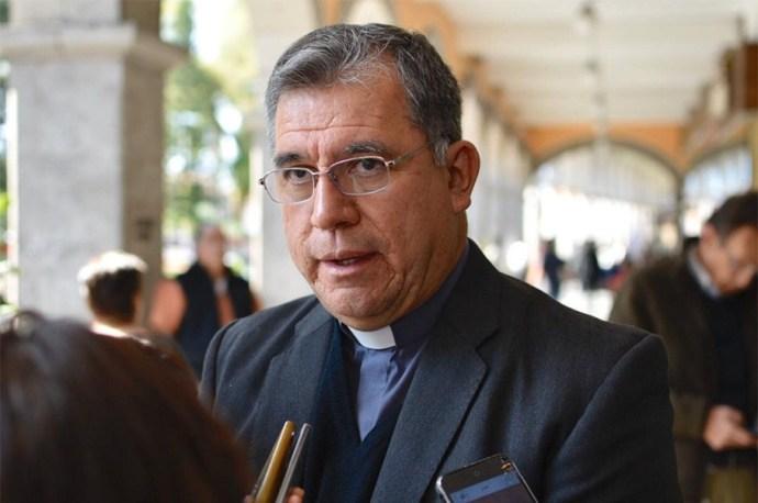 Vocero de la Arquidiócesis de Xalapa, José Manuel Suazo Reyes.